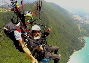 4. Vol parapente performance