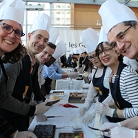 team cooking paris