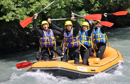 Rafting paris